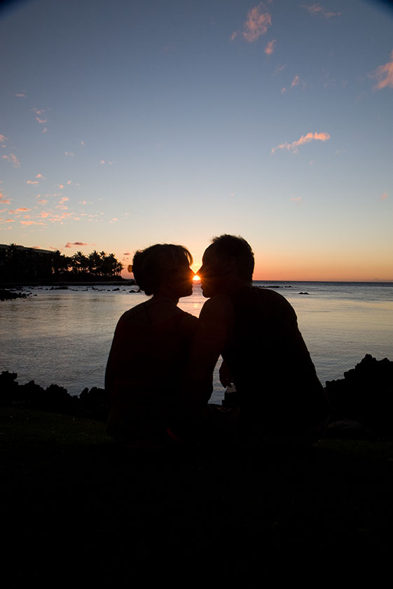 Image of a couple perhaps after attending Relationship and Couples Counseling in Newport Beach at sunset
