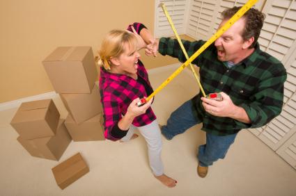 Home renovation causing marital stress?