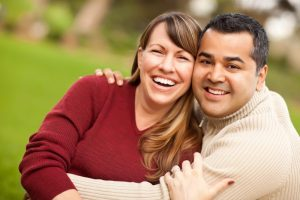 Attractive Couple after marriage counseling mission viejo