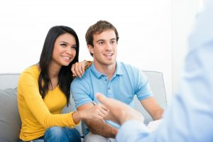 Image of couple in relationship counseling in mIssion viejo